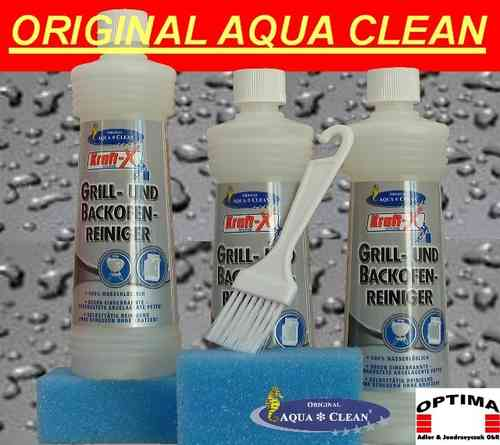 Aqua Clean Grill & Backofenreiniger 3er SET