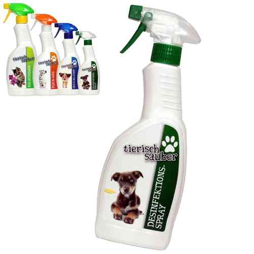 "tierisch sauber ""DESINFEKTIONS SPRAY"" 500 ml"